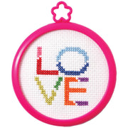 Love - A Bucilla counted cross stitch kit