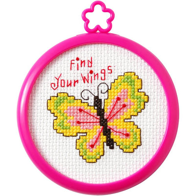 Find Your Wings - A Bucilla counted cross stitch kit