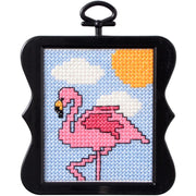 Flamingo - A Bucilla counted cross stitch kit