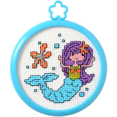Mermaid - A Bucilla counted cross stitch kit