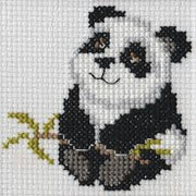 Panda - A Beutron mini cross stitch kit