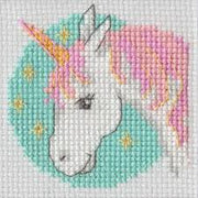 Unicorn - A Beutron mini cross stitch kit