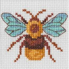 Bug - A Beutron mini cross stitch kit