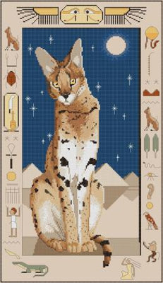 Pharaohs Pet Cross Stitch Design - stitchaphoto