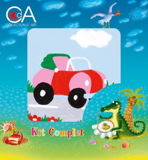 Car - A Collection d'Art Needlepoint Tapestry Kit