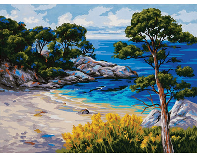Cedar Cove - A Collection d'Art Tapestry Canvas