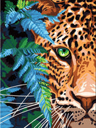 Jaguar - A Collection d'Art Tapestry Canvas