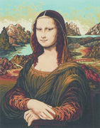 Mona Lisa - A Collection d'Art Tapestry Canvas