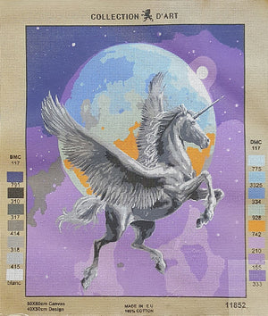 Unicorn - A Collection d'Art Tapestry Canvas