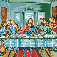 The Last Supper - A Collection d'Art Tapestry Canvas