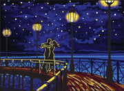 Starlight Dance - A Collection d'Art Tapestry Canvas