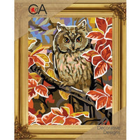 Owl - A Collection d'Art Needlepoint Tapestry Kit