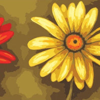 Gerberas - A Collection d'Art Tapestry Canvas