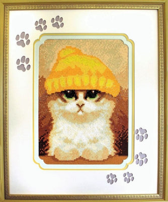 Cute Kitten - a Collection d Art Diamond Embroidery kit