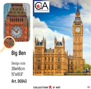 Big Ben - a Collection d Art Diamond Embroidery kit