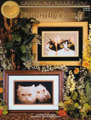 Naturally Cats II - A Cross My Heart cross stitch Booklet