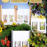 Seasonal Towels - A Cross My Heart cross stitch Booklet