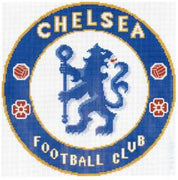 Chelsea FC Cross Stitch Design - stitchaphoto