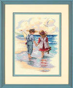 Holding Hands - a Dimensions counted cross stitch kit