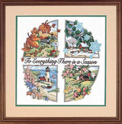 A Season for Everything - a Dimensions stamped cross stitch kit