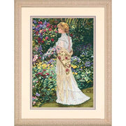 In Her Garden - a Dimensions Gold Collection cross stitch kit