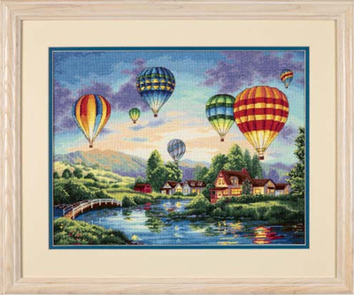 Balloon Glow - a Dimensions Gold Collection cross stitch kit