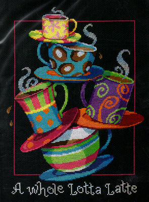 A Whole Lotta Latte - a Dimensions counted cross stitch kit