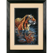 Tiger Chilling Out - a Dimensions counted cross stitch kit