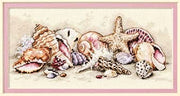 Seashell Treasures - a Dimensions Gold Collection counted cross stitch kit