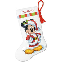 Mickey Christmas Stocking - a Dimensions cross stitch kit