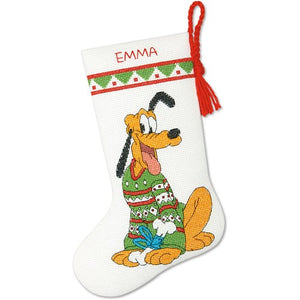 Pluto Christmas Stocking - a Dimensions cross stitch kit