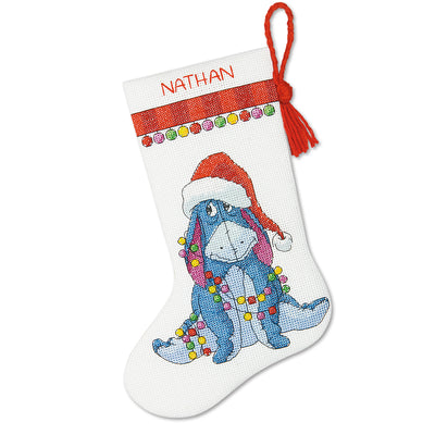 Eeyore Christmas Stocking - a Dimensions cross stitch kit