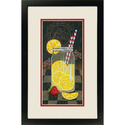 Lemonade Diner - a Dimensions counted cross stitch kit
