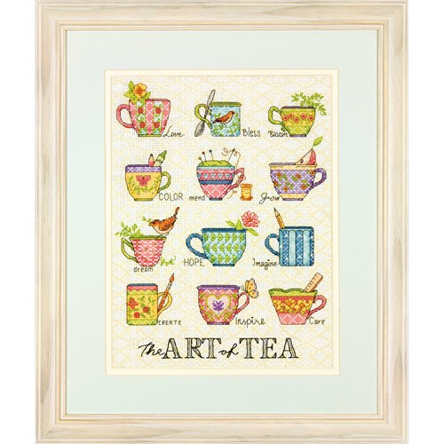 The Art of Tea - a Dimensions counted cross stitch kit