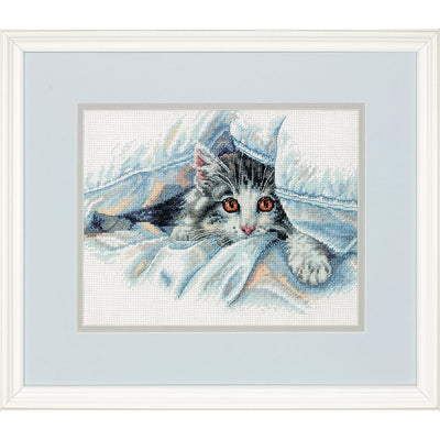 Cat Comfort - a Dimensions counted cross stitch kit