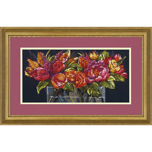 Flowers of Joy - a Dimensions cross stitch kit