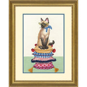 Cat Lady - a Dimensions counted cross stitch kit