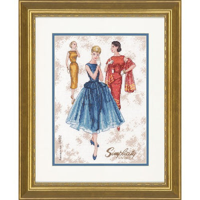Simplicity Vintage - a Dimensions counted cross stitch kit