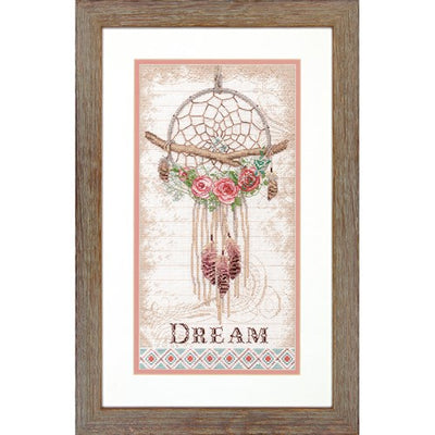 Floral Dreamcatcher - a Dimensions counted cross stitch kit