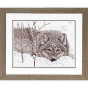 Snow Daze - a Dimensions counted cross stitch kit