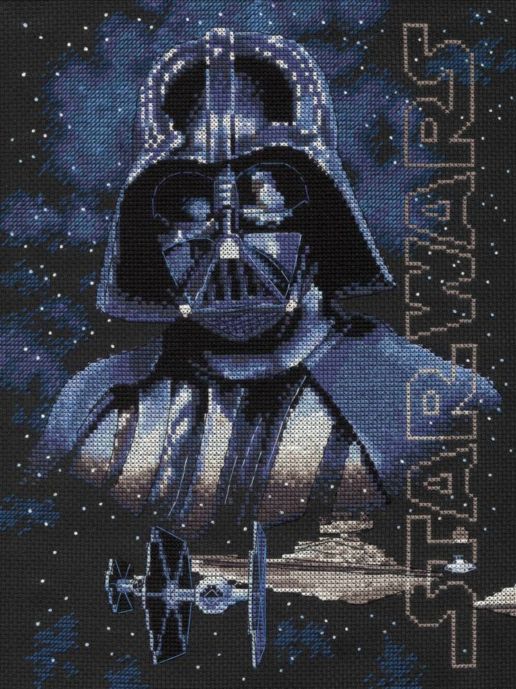 Star Wars - Darth Vader - a Dimensions counted cross stitch kit