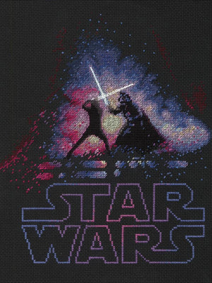 Star Wars - Luke and Darth Vader - a Dimensions counted cross stitch kit