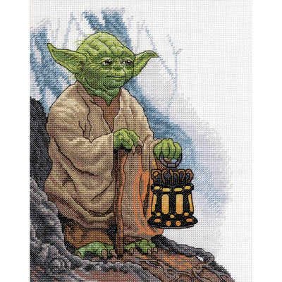 Star Wars - Yoda - a Dimensions counted cross stitch kit