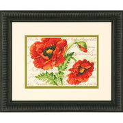 Poppy Pair - a Dimensions counted cross stitch kit