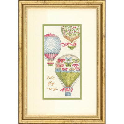 Let's Fly Away - a Dimensions Gold Collection counted cross stitch kit