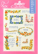Flowers I - A DMC Cross Stitch Publication
