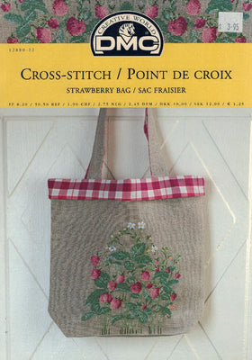 Strawberry Bag - DMC Cross Stitch Publication