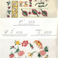 Garden Roses - DMC Cross Stitch Publication