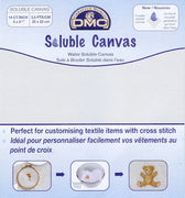 DMC Soluble Canvas 14 count