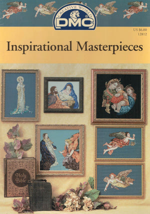 Inspirational Masterpieces - DMC Cross Stitch Publication